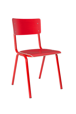 Back to School Chair Red (Pack of 4) - Paris-Sete