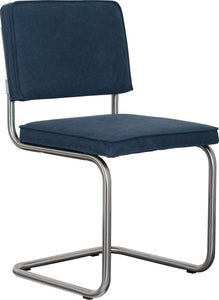 Ridge Vintage Chair Brushed Sailor Blue (Pack of 2)