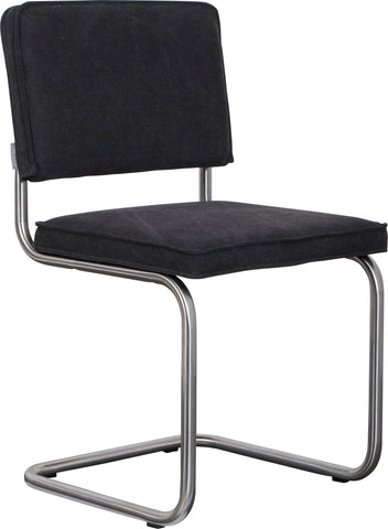 Ridge Vintage Chair Brushed Charcoal (Pack of 2)