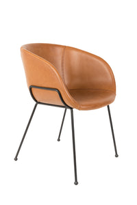 Feston Armchair Brown (Pack of 2)