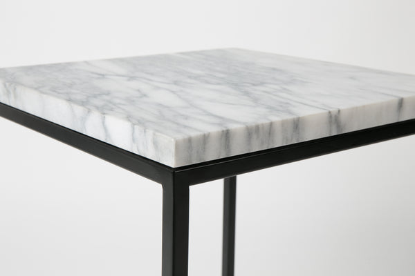 Marble Power Side Table