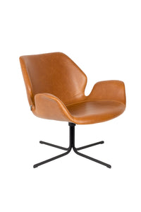 Nikki Lounge Chair Brown