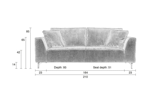 Dragon Rib Sofa
