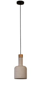 Cradle Pendant Lamp Bottle - Paris-Sete