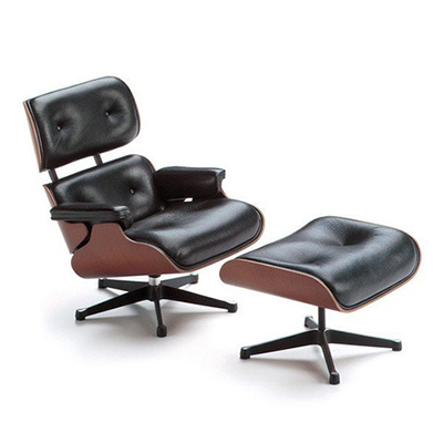 Lounge Chair & Ottoman (Miniatura) - Paris-Sete