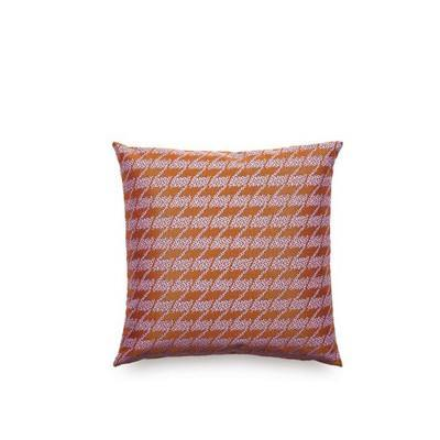 Almofada Repeat Classic Houndstooth Pink
