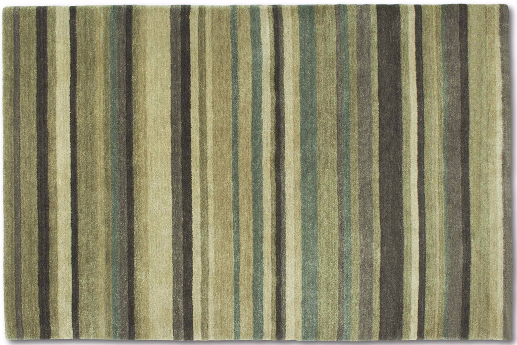 Antique Striped Green