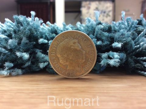 Luxury Shaggy Teal