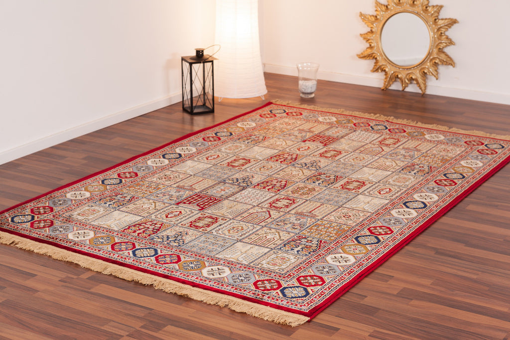 Kashmir Silky Four Season Red