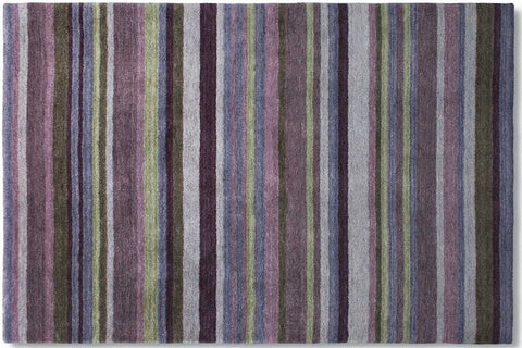 Antique Striped Purple/Green