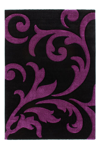 Lampada Floral Black-Purple