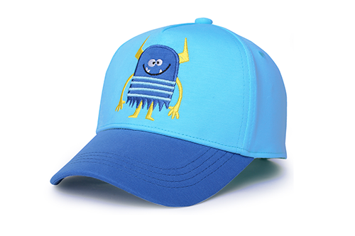 Kids Ball Cap - Monster Blue