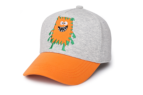Kids Ball Cap - Monster Orange