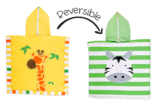 Reversible Kids Cover Up – Giraffe | Zebra