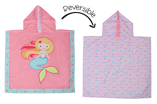 Reversible Kids Cover Up - Mermaid | Narwhal