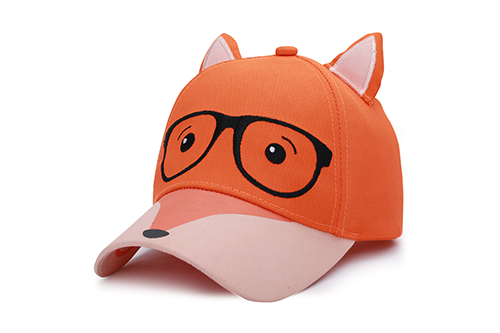 Kids 3D Cap - Fox