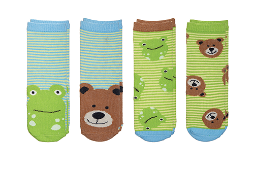 Sock Safari - Frog | Bear