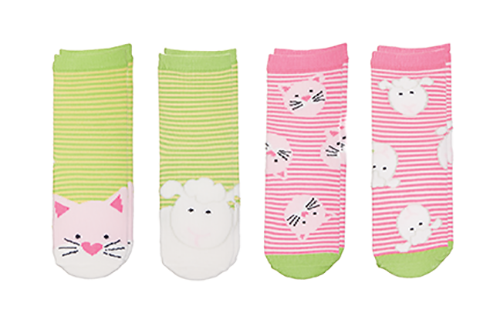 Sock Safari - Kitten | Lamb