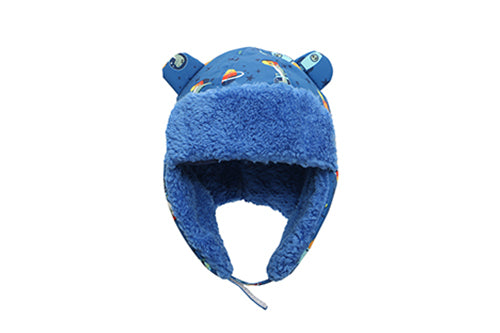 Kids & Baby Water Repellent Trapper Hat - Dinosaur