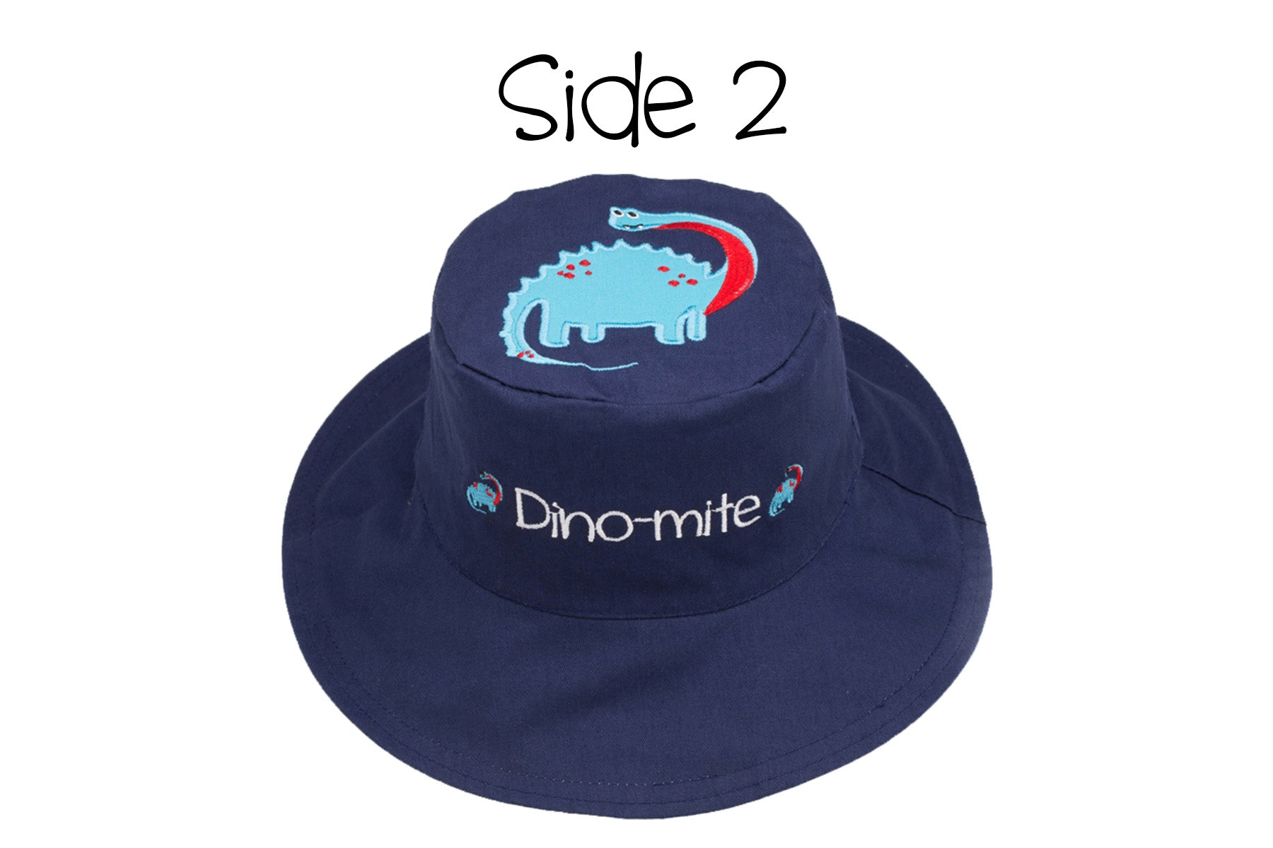 Medium Green Dino Kids Fedora Hat