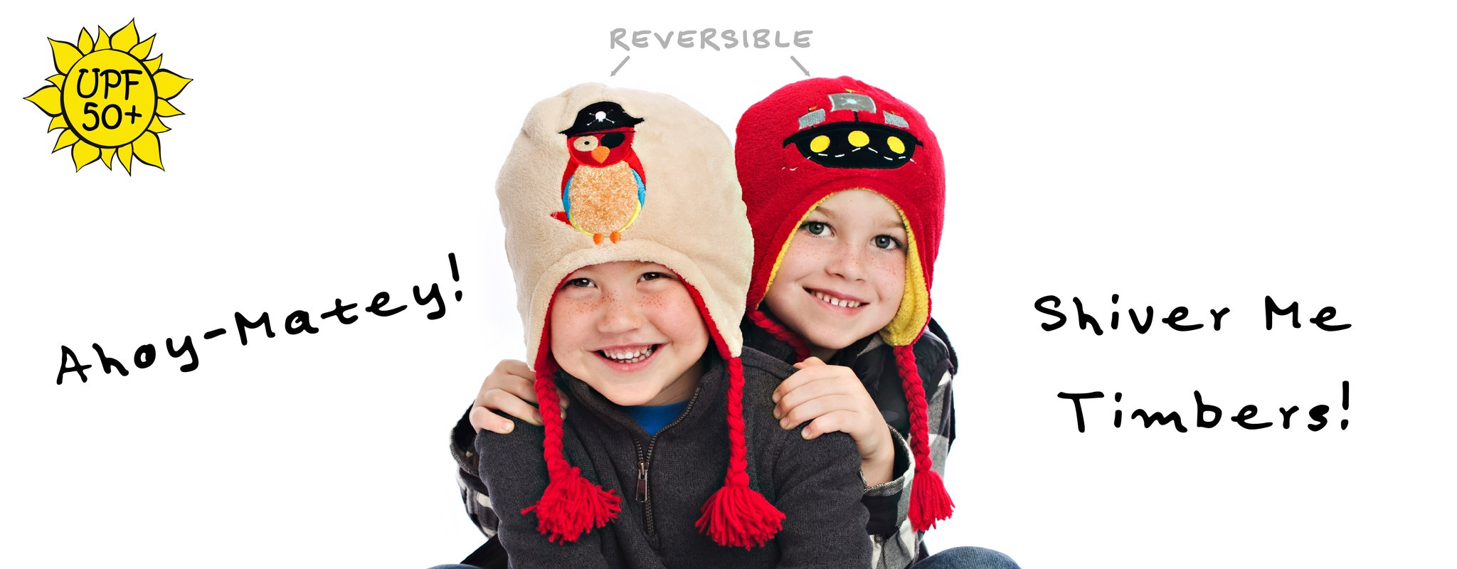 Reversible Pirate Ship/Parrot