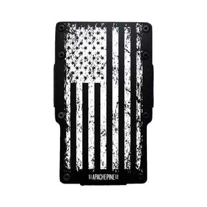 Black American Flag Wallet by Apache Pine
