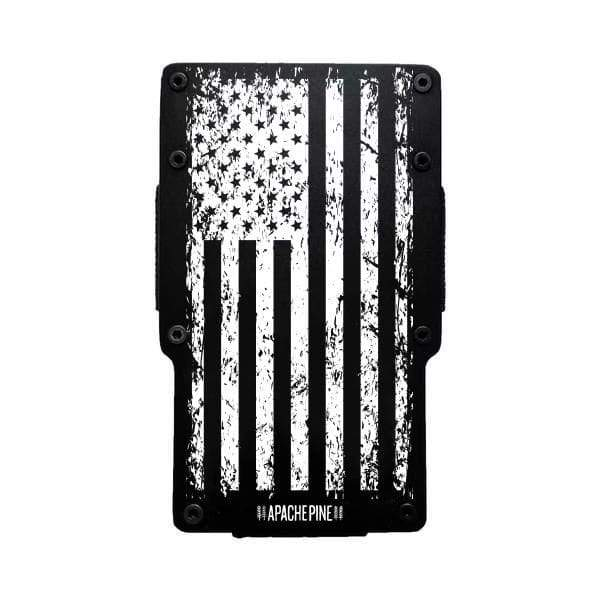 American Flag Wallet Black by Apache Pine