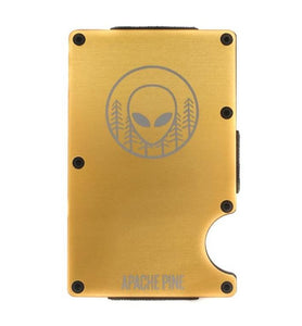 Alien Gold Wallet by Apache Pine