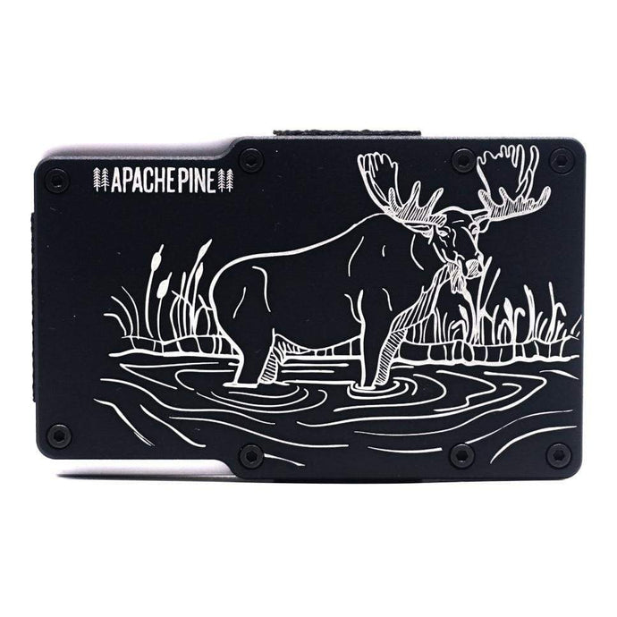 Western Moose Wallet by Apache Pine