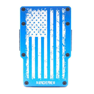 Blue American Flag Wallet