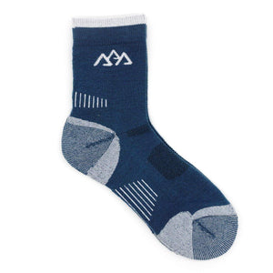Blue Merino Wool Socks by Apache Pine