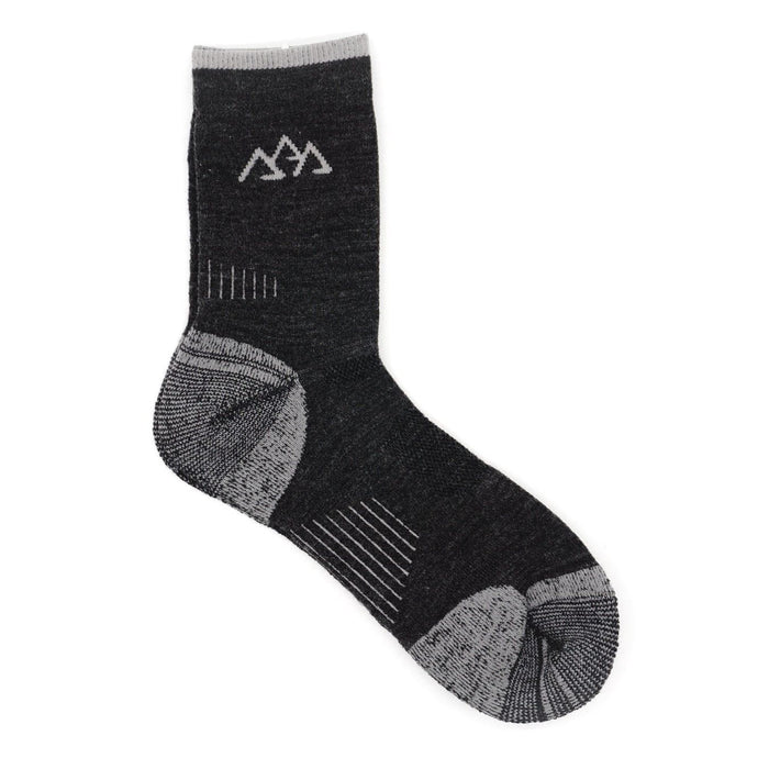 Grey Merino Wool Socks by Apache Pine