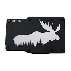 Alaskan Moose Wallet by Apache Pine