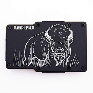 American Bison Wallet by Apache Pine