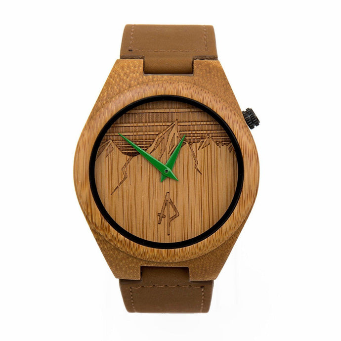 The Ridge - Bamboo Wooden Watch by Apache Pine