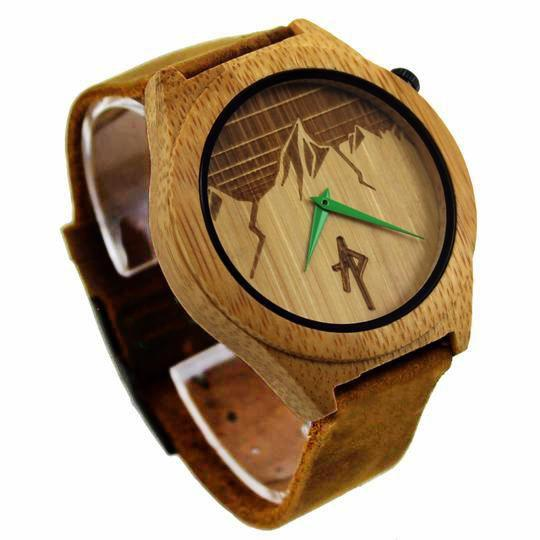 Apache Pine - The Ridge - Bamboo Wooden Watch