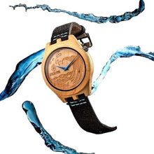The Wake - Maple Wooden Watch by Apache Pine