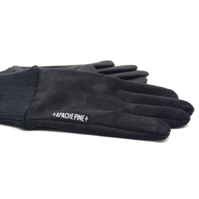 Black Running Gloves by Apache Pine