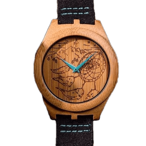 The Rainier - Bamboo Wooden Watch by Apache Pine