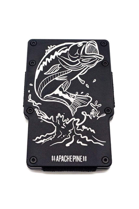 Largemouth Bass Wallet by Apache Pine