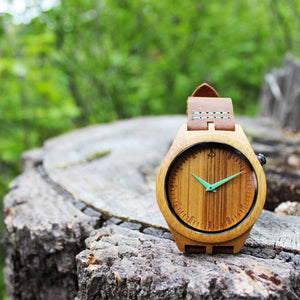 The Original - Bamboo Wooden Watch by Apache Pine