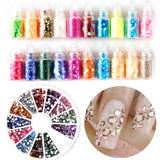 17 in 1 Nail Art Set 12 Colors Acrylic Powder - Fräulein3°8 - 2