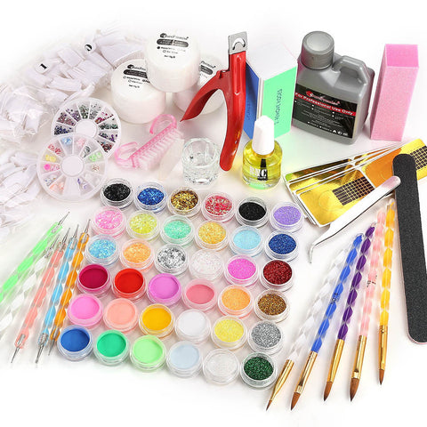 20 in 1 Professional Acrylic Nail Art Set - Fräulein3°8 - 1