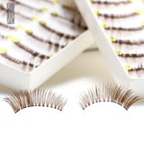 Fräulein3°8 20 Pairs of Brown Curly Eyelashes - Fräulein3°8 - 2