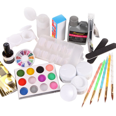12 in 1 Acrylic Nail Art Making Kit - Fräulein3°8