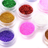 Fräulein3°8 12 Colors Glitter Dust for Nail Art - Fräulein3°8 - 2