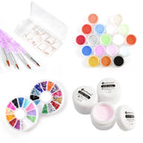 15 in 1 Acrylic Nail Art Set 18 Colors - Fräulein3°8 - 3