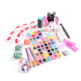 60 Colors Acrylic Nail Art and Manicure Kit - Fräulein3°8 - 4