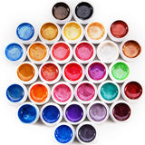 31 Solid Colors With Pearl Powder Nail UV Gel Set - Fräulein3°8 - 1