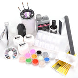 15 in 1 Professional Acrylic Nail Art Set - Fräulein3°8 - 1